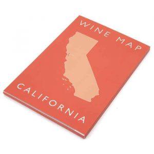 Vouwbare wijnposter Californië