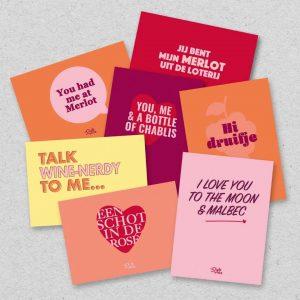 liefde ansichtkaarten
