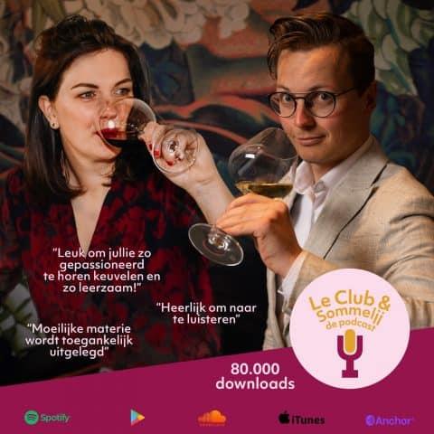 podcast over wijn