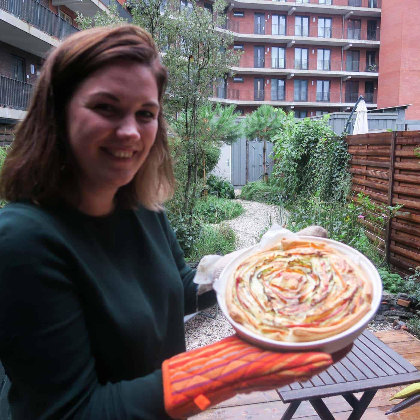 """Vandaag doen we vegetarisch met de """"spiral pie"""" en Bandol"""