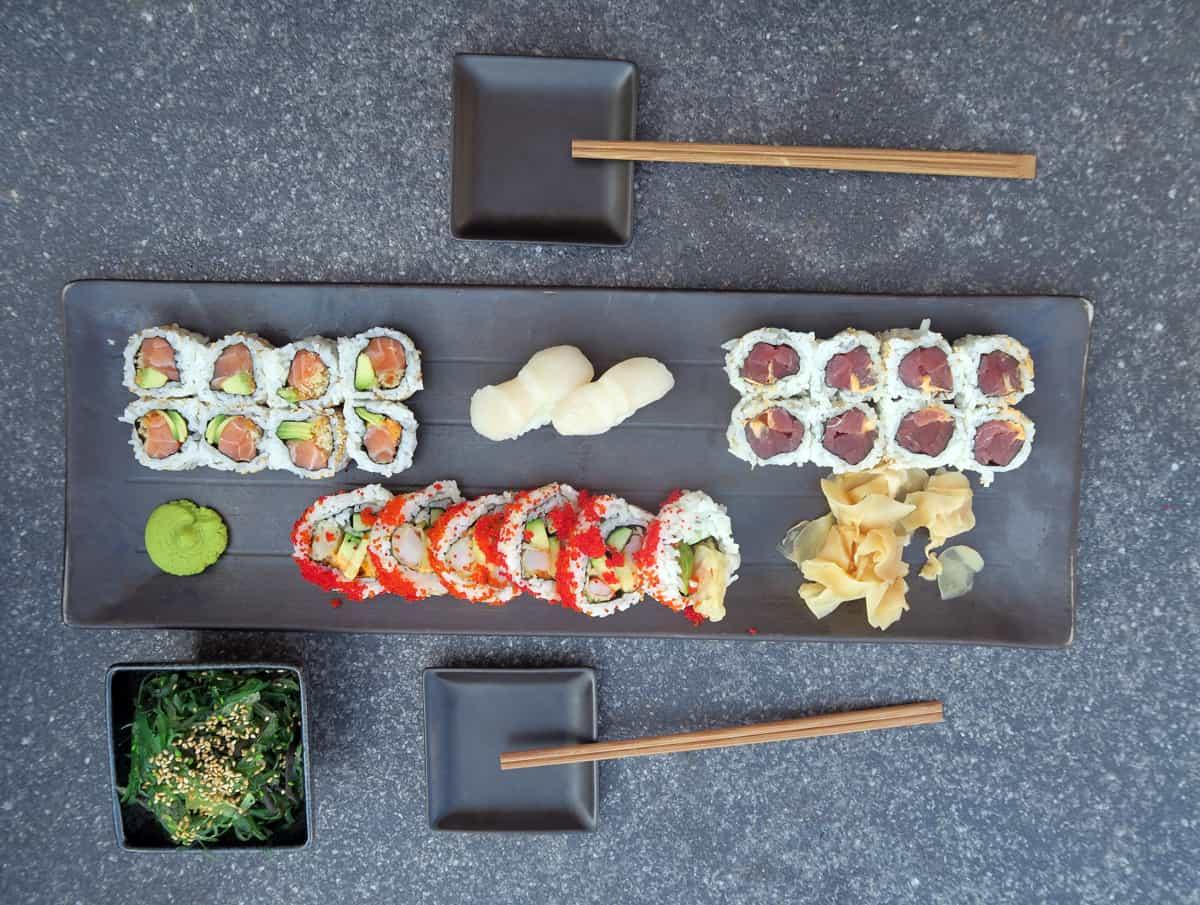Wijnspijs: welke wijn bij sushi?